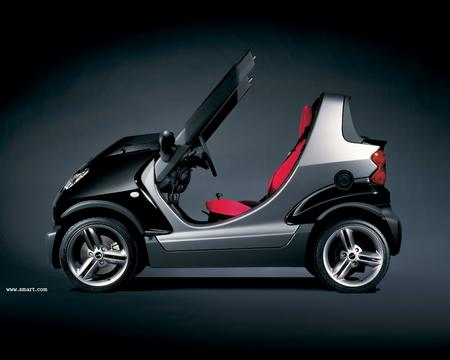 Smart car, but check out the Roadster and