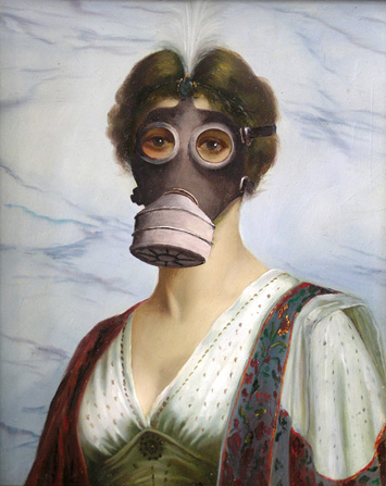 Lady-in-gasmask